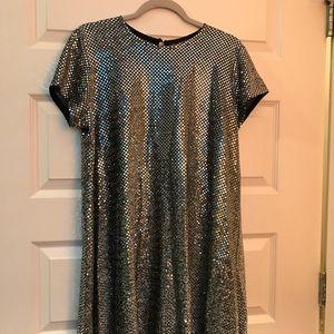 VINTAGE Jessica Howard disco swing dress